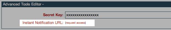 ClickBank - Request IPN URL